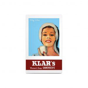 Klar's γυναικείο σαπούνι 100g, χωρίς φοινικέλαιο
