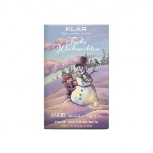 Klar's Christimass σαπούνι με αμύγδαλο 100g, χωρίς φοινικέλαιο