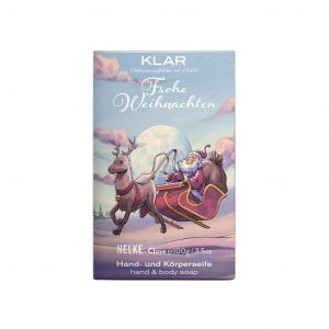 Klar's Christmass σαπούνι με γαρύφαλλο 100g, χωρίς φοινικέλαιο