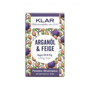 Klar's Bar Shampoo Argan oil & σύκο (σαπούνι μαλλιών σε μπάρα)