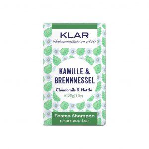 Klar's Bar Shampoo χαμομήλι & τσουκνίδα 100g (σαπούνι μαλλιών σε μπάρα)