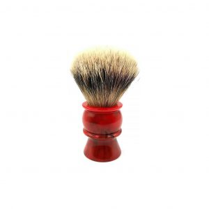 Πινέλο Ξυρίσματος Ασβού Silvertip Yaqi Red Resin Handle R1605-B1 Knot 24mm